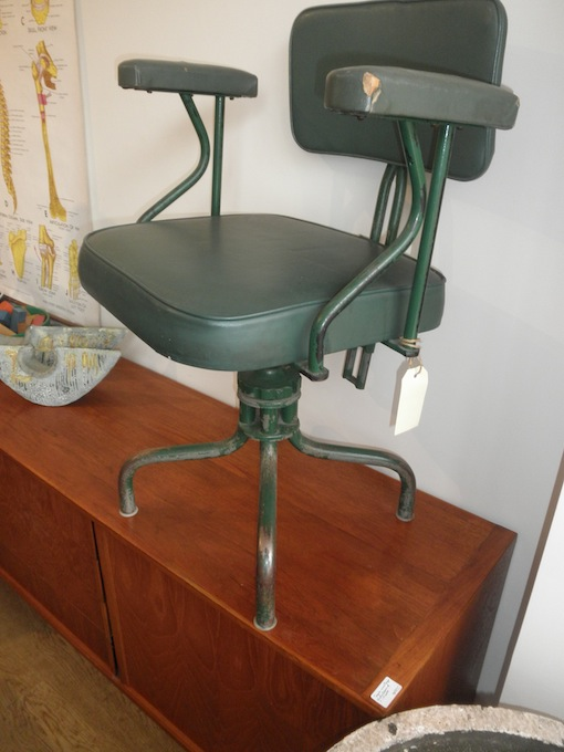 Industrial vintage office chair Red Rider