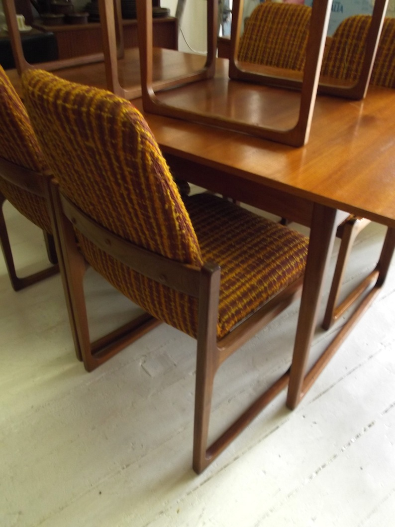 Gerald Easden Module Dining Suite In Teak And Blackwood