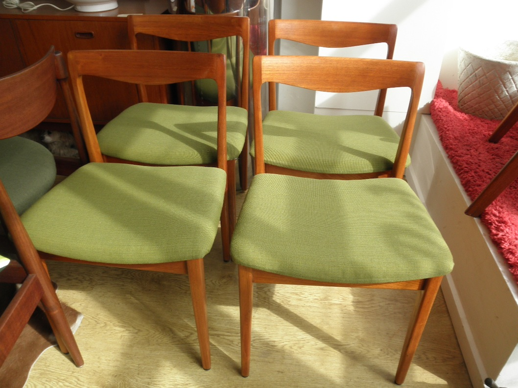 Set of 4 FLER dining chairs in teak fully restored Red Rider : PB200006 from www.redrider.com.au size 1058 x 794 jpeg 229kB