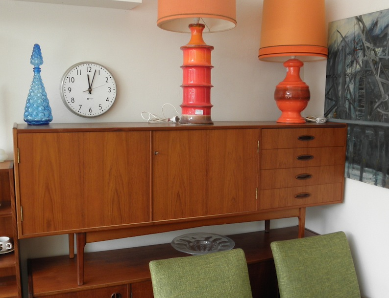 Fler 64 Buffet Sideboard By Lowen And Roddick Red Rider